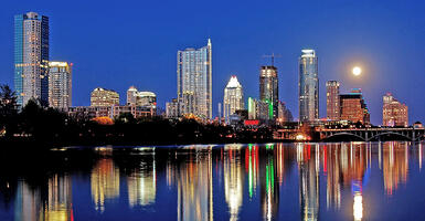 Austin Texas skyline, To ICSE '16 and Back Again: A Research Tale